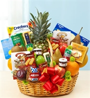 Fruit & Gourmet Basket - Large