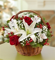 Fields of Europe for Christmas Basket - Deluxe