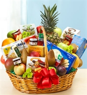 Fruit & Gourmet Basket - X Large