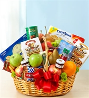 Fruit & Gourmet Basket - Medium